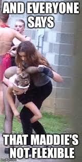 Dance Moms Memes - maddie ziegler stretching imgflip