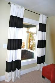 Grey And White Striped Curtains Striped Kitchen Curtains Black White Striped Curtains Grey Striped