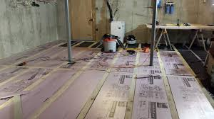 basement subfloor options basements ideas
