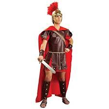Super Deluxe Halloween Costumes Amazon Super Deluxe Roman Warrior Costume Clothing