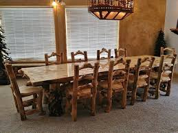 rustic log dining room tables distressed round dining table and chairs radionigerialagos com