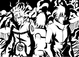 sasuke and sasuke and team 7 reunits by surgeon on deviantart