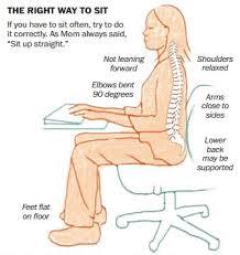 bonne position au bureau aïe rester assis trop longtemps est dangereux pour la santé
