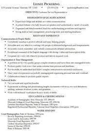 Free Sample Resume For Customer Service Representative Best Resume Templates Sample Http Www Resumecareer Info Best