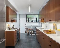 mid century modern galley kitchen kitchens designer kitchens