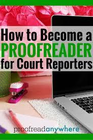 Court Reporter Resume Samples Free Proof Reader Resume Cv Cover Letter