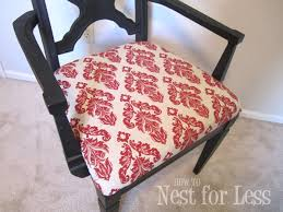 Damask Chair Re Do Of A Re Do Great Room Accent Chair How To Nest For Less