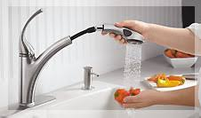 kitchen sinks with faucets faucets for kitchen sinks captainwalt com