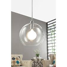 Clear Globe Pendant Light Clear Globe Pendant Light