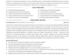 exle resume for retail retail manager resumes tigertweet me