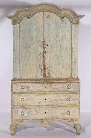rococo period swedish cupboard on chest rococo and furniture storage