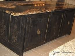 kitchen amazing distressed black kitchen cabinets painting dark