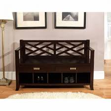 bench simpli home sea mills entryway storage bench with drawers