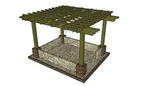 Building A Freestanding Pergola by 12x24 Free Pergola Plans Myoutdoorplans Free Woodworking Plans