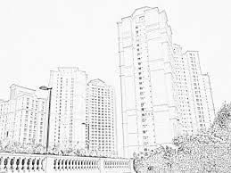 stock pictures skyscraper sketches