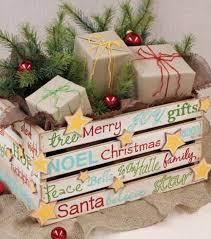 cassette natalizie idee natalizie con pallet e cassette di legno ecco 20 no祀l