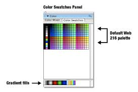 beginner u0027s guide adobe flash color color swatches wikibooks