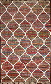 rugsville moroccan trellis chindi kilim rug 150x240