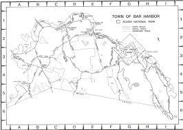 Acadia National Park Map Lsrobinson Real Estate U0026 Vacation Rentals Bar Harbor Southwest