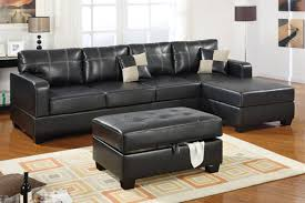 Black Leather Sectional Sofas Sofa Sectional Sofas Sectional Sofas With Recliners Black