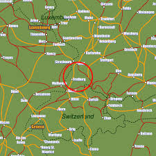 map of freiburg freiburg rail maps and stations from european rail guide