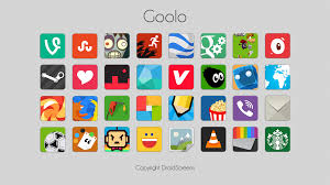 5 icon packs for android