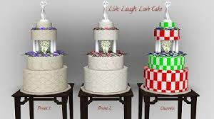 wedding cake sims 4 mod the sims wedding cakes