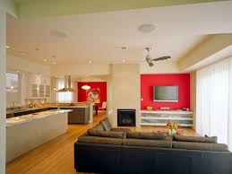 Bedroom With Red Accent Wall - surprising living room with red accents living room red sofa