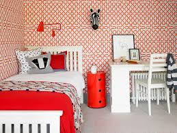 Modern Wallpaper Bedroom Designs 25 Awesome Rooms That Inspire You To Try Out Geometric Wallpaper