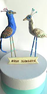 stork cake topper picture of unique wedding cake toppers