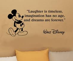 Disney Bedroom Wall Stickers Walt Disney Mickey Mouse Laughter Is Timeless Wall Image