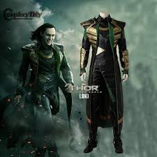 cosplaydiy avengers thor the dark world cosplay loki marvel