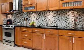 kitchen cabinet natural cherry shaker kitchen cabinets home