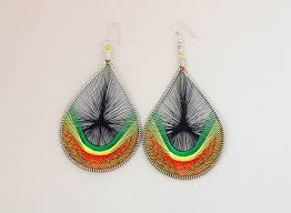 thread earrings 4 thread earrings screams africa