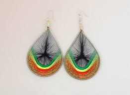 thread earrings 4 thread earrings screams africa