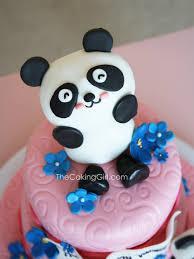 panda cake template thecakinggirl july 2013