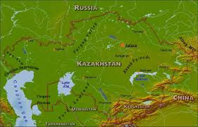 Turkestan Map Maps Of Kazakhstan Bizbilla Com