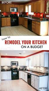kitchen cheap kitchen remodel with 9 cheap kitchen makeover
