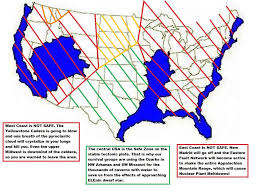 Map Of United States East Coast by United States Safe Zone Map 2014 Fault Line Map This Could