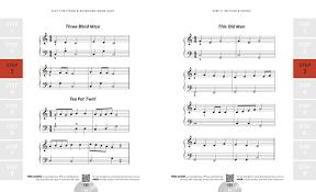 Three Blind Mice Piano Notes Play Piano U0026 Keyboard Made Easy Rock Pop Jazz U0026 Classical