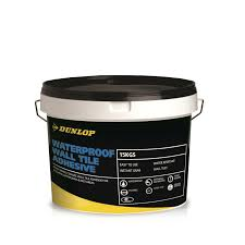 waterproof wall tile adhesive dunlop trade