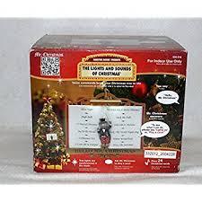mr goodnight lights santa ornament