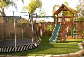 Playground Sets For Small Backyard Landscaping Ideas Kids Friendly - Backyard playground designs