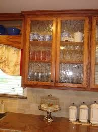 kitchen seeded glass kitchen cabinet doors tableware