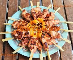 espagne cuisine pinchitos de pollo brochettes de poulet espagne ma cuisine bleu