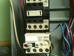 component single phase motor starter circuit forward reverse ppc