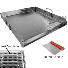 stainless steel griddle ebay