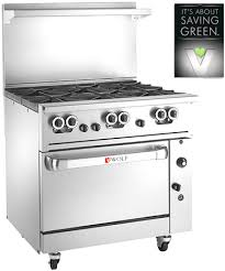 Wolf Gas Cooktops Challenger Xl Wolf Range Commercial Restaurant Stoves