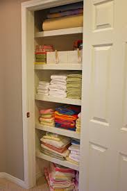 organized linen closet the sunny side up blog
