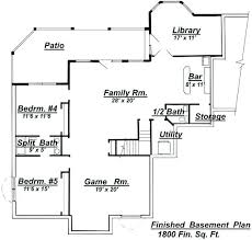 ranch style floor plans with basement open ranch style floor plans ranch house plans with basement luxury